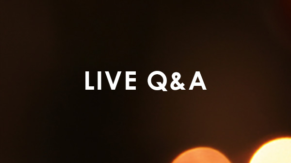 Live Q&A — Night 1