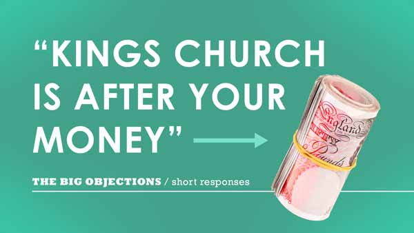 Kings Church is after your money